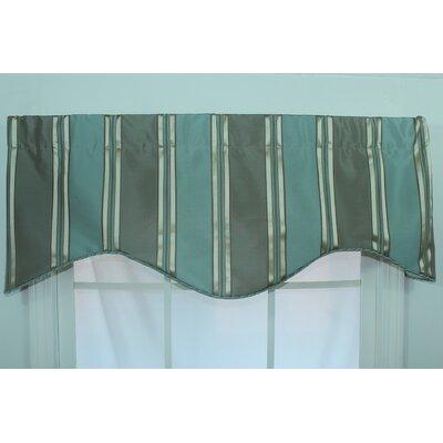 "Euro Stripe 50"" Curtain Valance Product Photo"