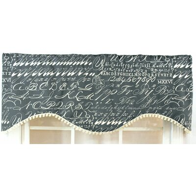 "Alphabet 50"" Curtain Valance Product Photo"