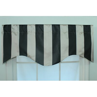 """Actual Stripe 50"""" Curtain Valance Product Photo"""