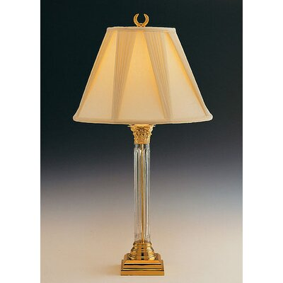 "Remington Lamp Company Narrow 32"" H Table Lamp with Empire Shade"