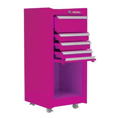 "The Original Pink Box 16"" Wide 4 Drawer Side Cabinet"