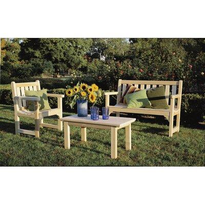 Rustic Natural Cedar Furniture Cedar English Wood Garden Bench