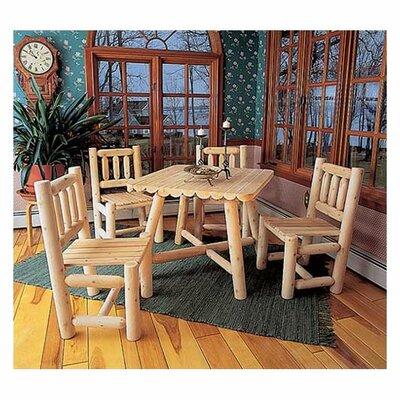 Rustic Natural Cedar Furniture Cedar Dining Side Chair