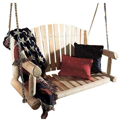 Rustic Natural Cedar Furniture Rustic Cedar Porch Swing