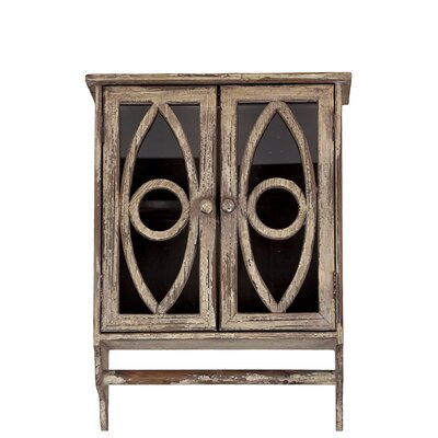 Wooden Wall Cabinet by Urban Trends