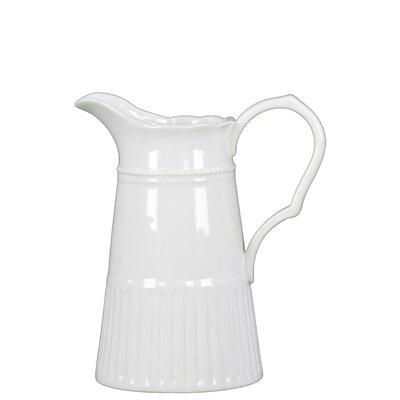 Ceramic Pitcher by Urban Trends