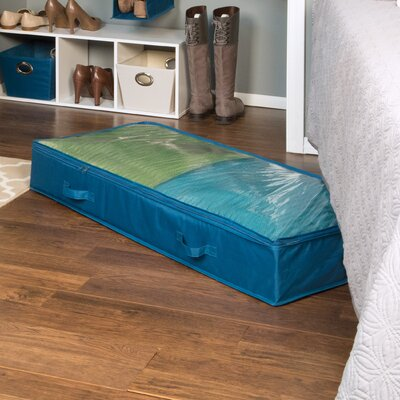 Rhi Home Teal Underbid Storage Bags Chest Organizer Product Photo