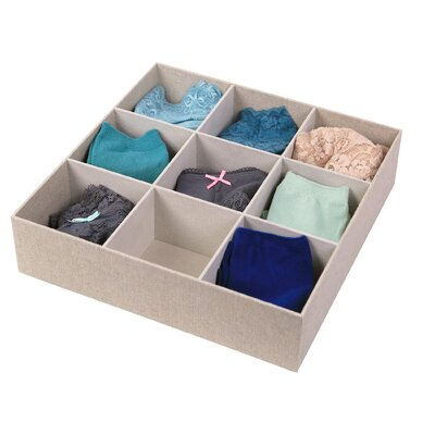 Loft Arrow 9 Compartment Storage Drawer Organizer Product Photo