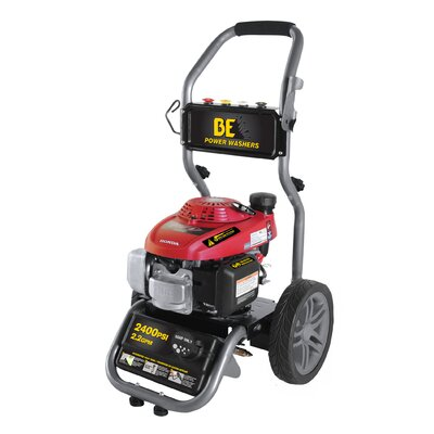 2400 PSI 2.2 GPM Cold Water Pressure Washer by BE Pressure