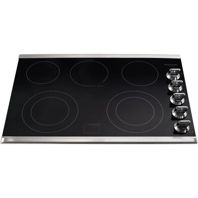 "Gallery 30.37"" Electric Cooktop with 5 Burners Product Photo"