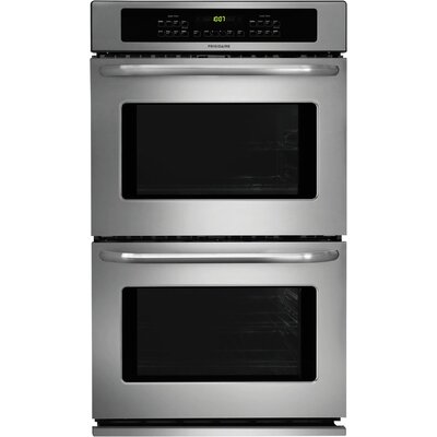 "30"" Electric Double  Wall Oven in Stainless Steel Product Photo"