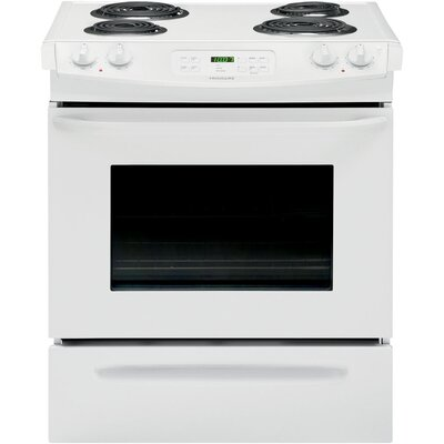 4.6 Cu. Ft. Electric Range in White Product Photo