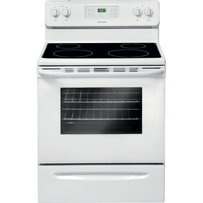 5 Cu. Ft Electric Range in White Product Photo