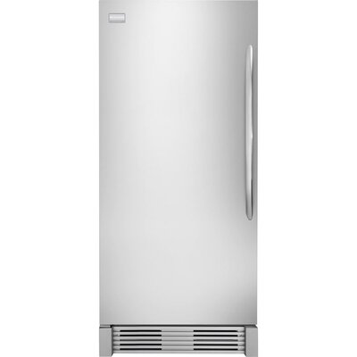 18.5 cu. ft. Upright Freezer in Stainless Steel by Frigidaire