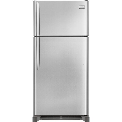 14.2 cu. ft. Top Freezer Refrigerator in Stainless Steel Product Photo