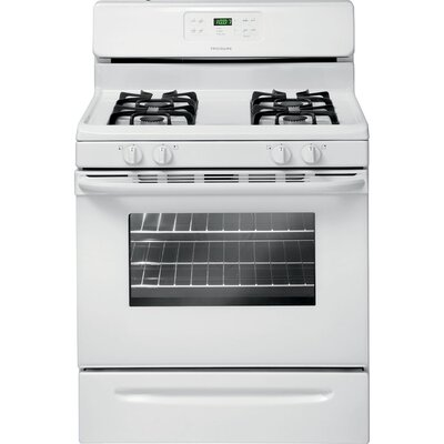 5 Cu. Ft. Gas Range in White Product Photo