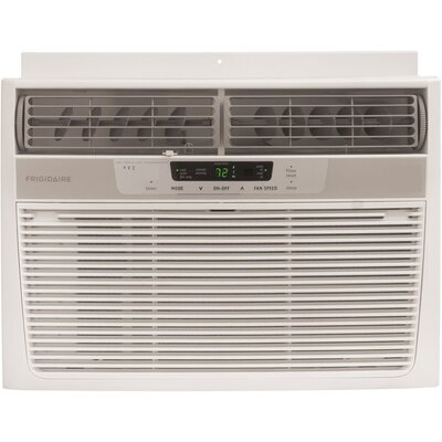 12,000 BTU Window-Mounted Compact Air Conditioner with Full-Function Remote Control Product Photo
