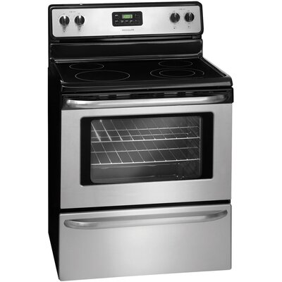 4.8 Cu. Ft. Electric Range in Stainless Steel Product Photo