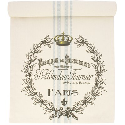 Paris Cotton Table Runner by TheWatsonShop