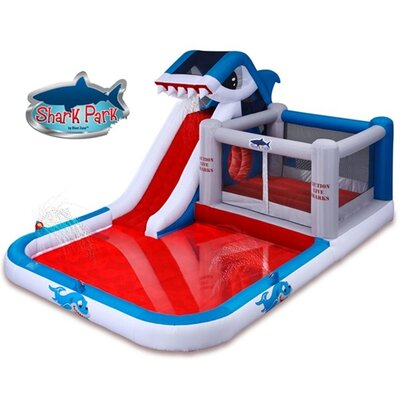 Shark Park Water Slide and Bounce House Product Photo