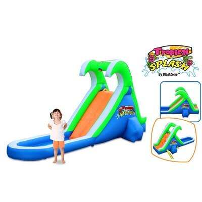 Tropical Splash Water Slide Product Photo