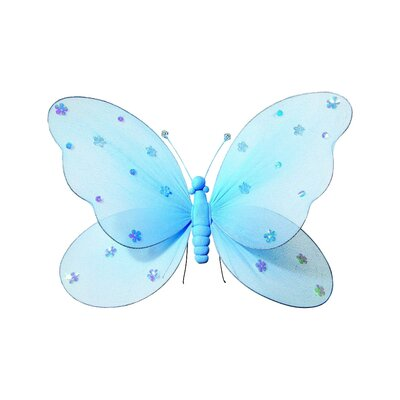 Sequined Hanging Butterfly 3D Wall Decor by Heart to Heart