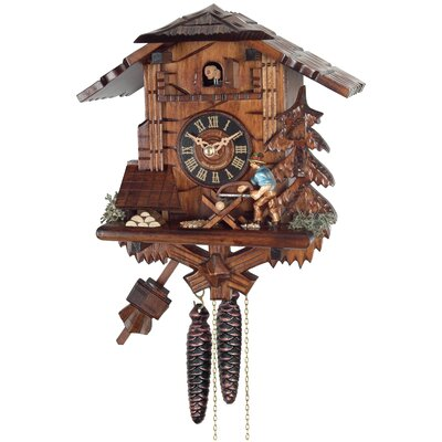 One Day Cottage Cuckoo Wall Clock by River City Clocks