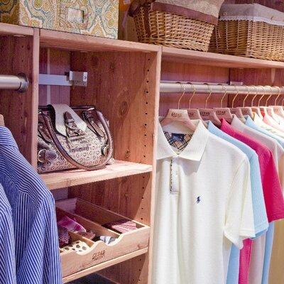 28 Cedar Green Closet Organizer Cedar Green Cedar 14 Quot D