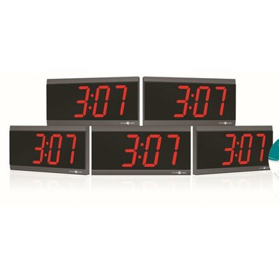 Pyramid Power Over Ethernet Digital Wall Clock