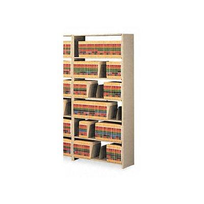 Tennsco Corp. Tennsco Snap-Together 6-Shelf Closed Starter Set Open Filing Unit