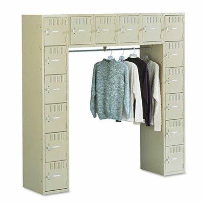 Tennsco Corp. 6 Tier Coat Bar Box Locker