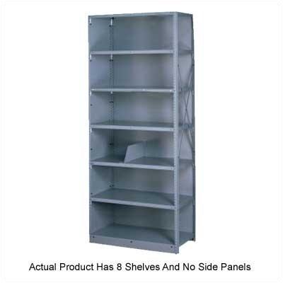 Tennsco Corp. Q Line Open 7 Shelf Shelving Unit Starter