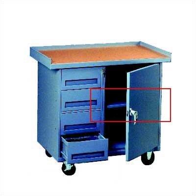 Tennsco Corp. Mobile Workbench Shelf