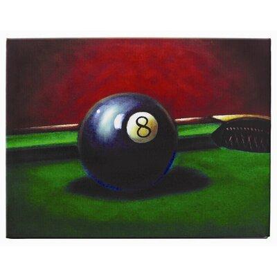RAM Game Room 8 Ball Painting Print