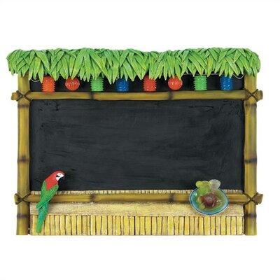 RAM Game Room Outdoor Tiki Bar Sign Chalkboard