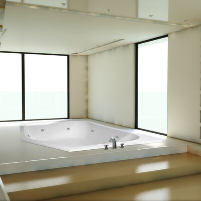 "Designer Katarina 69"" x 69"" Whirlpool Bathtub Product Photo"