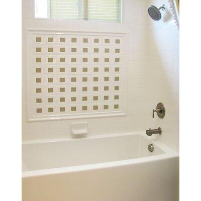 """Hydro Systems Designer 72"""" x 32"""" Sydney Soaking Bathtub with Whirlpool System"""