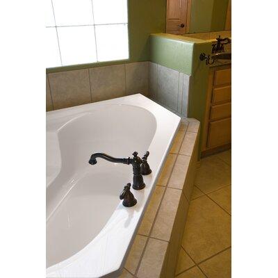 """Hydro Systems Designer 59"""" x 59"""" Rincon Soaking Bathtub with Whirlpool System"""