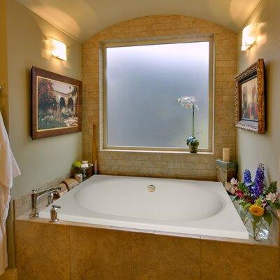 "Hydro Systems Designer Fuji 60"" x 40"" Air/Whirlpool Bathtub with Thermal System"