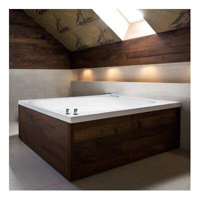 """Hydro Systems Designer Alexis 60"""" x 48"""" Bathtub"""