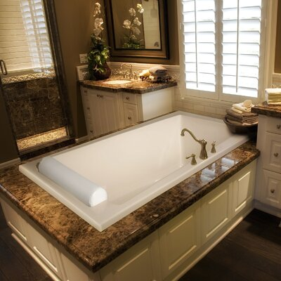 """Hydro Systems Designer 70"""" x 43"""" Regal Whirlpool Bathtub with Combo System"""