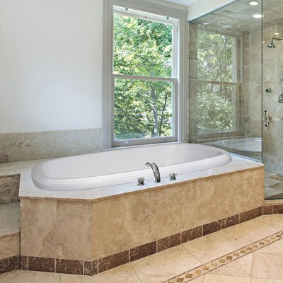 """Hydro Systems Designer 66"""" x 42"""" Sylvia Air/Whirlpool Bathtub with Thermal System"""