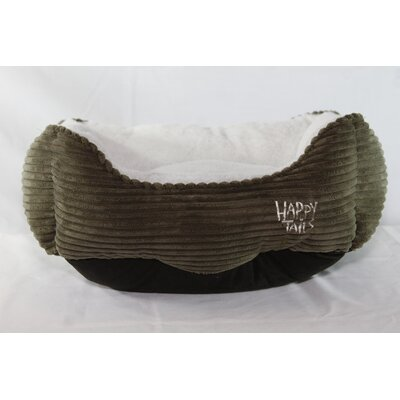 Luxurious Corduroy Dog Cuddler by Happy Tails