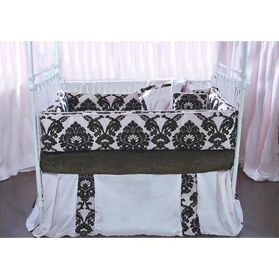 Paris 4 Piece Crib Bedding Set by Blueberrie Kids