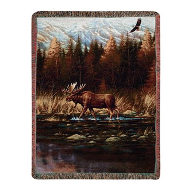 Manual Woodworkers & Weavers Autumn Memories Tapestry Cotton Throw