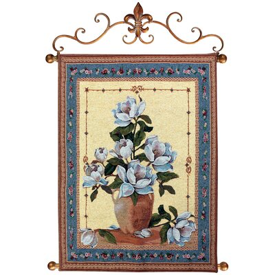 Manual Woodworkers & Weavers Spring Magnolias Tapestry
