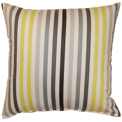 Line Up Cotton Throw Pillow by Dakotah Pillow