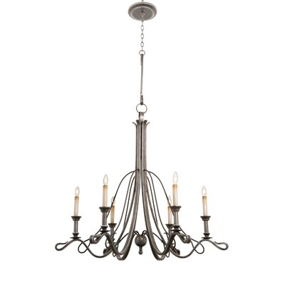 Keller 6 Light Chandelier by Kalco