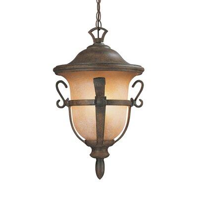 Kalco Tudor 3 Light Outdoor Hanging Lantern