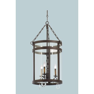 Kalco Morris 3 Light Chandelier